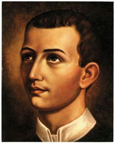 """St. Gerard Majella, the mothers' saint. Close-up portrait of St. Gerard. 8"""" x 10"""" color print mounted on cardboard backing. http://www.liguori.org/productdetails.cfm?PC=7853"""