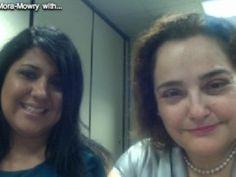 """Lunch with Lorena Mora-Mowry hablamos con Karla Boldery, Asesora Financiera de SBDC Urban League Cincinnati sobre el """"Financiamiento Colectivo o Crowdfunding""""."""