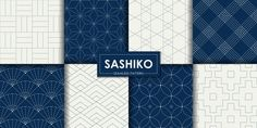 Find Japanese Sashiko Seamless Pattern Vector Set stock images in HD and millions of other royalty-free stock photos, illustrations and vectors in the Shutterstock collection. Graphic Patterns, Tile Patterns, Textures Patterns, Shibori, Black Flowers Wallpaper, Art Deco Paintings, Skull Artwork, Background Patterns, Vector Background