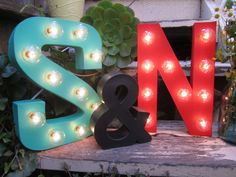 Hey, I found this really awesome Etsy listing at http://www.etsy.com/listing/161525349/12-marquee-letter