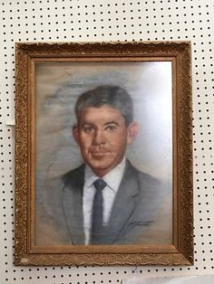 Man Picture In Frame