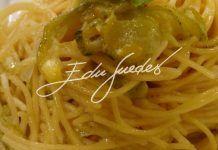 Espaguete com abobrinha