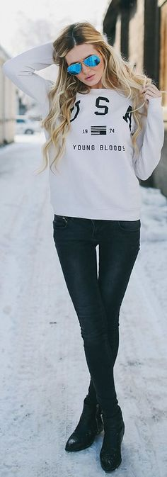 USA #Sweater by Barefoot Blonde