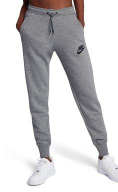 Long Haul Flight Essentials - Nike Women s Fleece Pants Lazy Outfits 4746b8c6f883