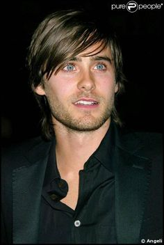 ... timeless eyes, with a punk-rock kick of Sensuality in every stare ... Jared Leto ...