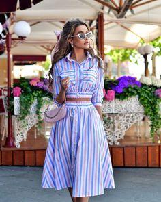 """Маргарита Цельсова on Instagram: """"Сегодня в моей подборке 3 летних must have. Как всегда, с разным характером, но одинаково комфортные и «на каждый день». Любое из них можно…"""" Ladies Who Lunch, Modest Wear, Cute Casual Outfits, Fashion Outfits, Fashion Trends, Beautiful Outfits, Designer Dresses, Vintage Dresses, Fashion Looks"""
