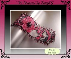 ART NOUVEAU - DOUBLE TAKE 2 Drop Peyote Stitch DOUBLE TAKE DESIGNS Now available EXCLUSIVELY from Trinity Designer Jewellery  Have you ever struggled