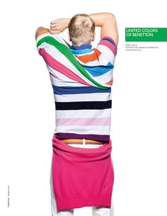 United Colours Of Benetton Spring/Summer 2013 Advertising Campaign: Taking The Basic Colours Of Fashion Into Depth