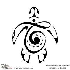 TATTOO TRIBES: Tattoo of N+K turtle, Love, protection tattoo,turtle letters k+n twist tattoo - royaty-free tribal tattoos with meaning Hawaiian Turtle Tattoos, Tribal Turtle Tattoos, Tribal Tattoos With Meaning, Tattoo Tribal, Turtle Tattoo Designs, Small Turtle Tattoo, Hawaiianisches Tattoo, Body Art Tattoos, Sleeve Tattoos