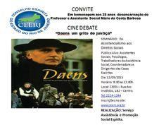 Cine Debate no CEERJ - RJ - http://www.agendaespiritabrasil.com.br/2015/09/02/cine-debate-no-ceerj-rj/