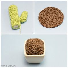 Amigurumi Cactus Crochet Pattern