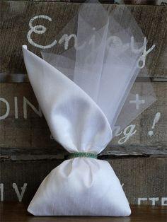 μπομπονιέρες γάμου πουγκί μεταξωτό, annassecret, Χειροποιητες μπομπονιερες γαμου, Χειροποιητες μπομπονιερες βαπτισης