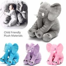 Larga nariz elefante cojín felpa suave peluche animal juguete para niños bebé