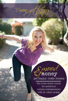 """All the wealth consciousness mantras and money mindset affirmations in the world will do precious little for you if your emotions are blocking or interfering with your desires."" Dr. Robyn McKay - Mood & Money home study course. http://www.robynmckay.com/homestudycreative"