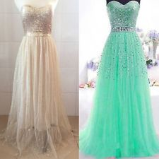 Sexy Chiffon Bridesmaid Formal Gown Ball Party Cocktail Evening Prom Long Dress