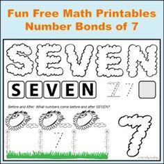 Number Bonds to 11 Free Math Worksheets | Matemaatika | Pinterest ...