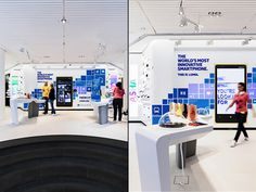 Nokia flagship store by Sundae Creative & Helsinki Visual Merchandising, Phone Store, Electronic Shop, Retail Store Design, Retail Experience, Branding Materials, Home Network, Digital Signage, Design Furniture