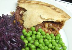 Jenny Eatwell's Rhubarb & Ginger: Corned Beef Pie - plain storecupboard food!