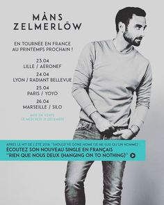 Måns in france!! It's pretty good! #manszelmerlow#boy#sweden#french#best#singer#follow4follow#like4like#song#sing#famous#popular#manster#face#concert#city#paris#bordeaux#lyon#date