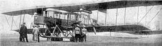 """With the beginning of World War I, Sikorsky was encouraged by the results of the proving flights to redesign the aircraft to become the """"Military Ilia Mourometz, Type V, the world's first purpose-designed bomber.[15][N 2] The new heavy bomber was slightly smaller and lighter than the Type A. Internal racks carried up to 800 kg of bombs, and positions for up to nine machine guns were added for self-defense in various locations, including the extreme tail. The engines were protected with 5…"""