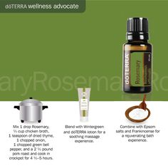 Find me on Facebook at: Essential Oils for your Well Being