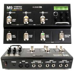 Line 6 M9 Guitar Multi-Effects Pedal