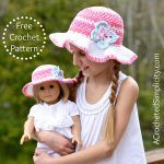 Free Crochet Pattern – Kids Linen Stitch Sunhat