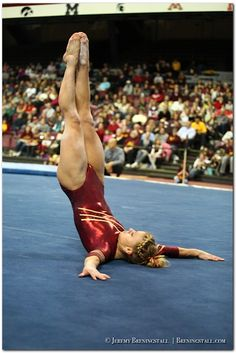 University of Minnesota women's gymnastics: Dusti Russell  #KyFun