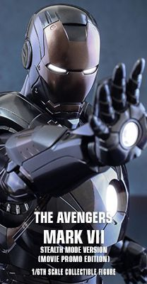 The Avengers - Iron Man Mark VII (Stealth Mode Version) Movie Promo Edition 1/6th scale Collectible Figure