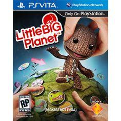 Little Big Planet Pre-order Bonus* Costume Packs (PS Vita) Music Games, Fun Games, Ps Vita Games, Little Big Planet, Big Plants, Only Play, Playstation Games, New Adventures, Online Games