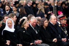 European royal attend the funeral of former King Michael of Romania.