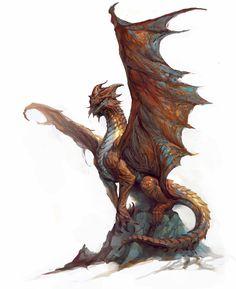 ArtStation - Copper Dragon, Vance Kovacs