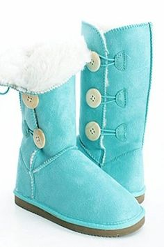 Tiffany blue boots LOVE it UGG fashion This is my dream , Click the link for best price UGG .
