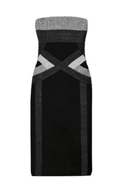 Strapless Bandage Dress by HERVE LEGER @Girl Meets Dress #girlmeetsdress Rent your favourite dresses from the runway