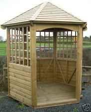 u diameter marlow garden gazebo pergola summerhouse