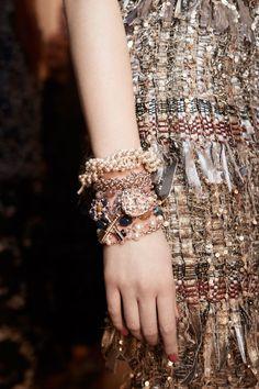 Chanel детали   Коллекции осень-зима 2017/2018   Париж   VOGUE