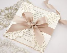 'White Ivy' invitations by The Boutique Paper Co.  www.theboutiquepaperco.com.au