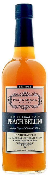 Powell & Mahoney - Peach Bellini Mixer