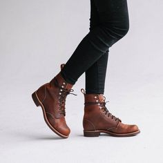 Red Wing Silversmith – Womens Heritage - Home Page Red Wing Boots, Redwing Boots Women, Oxfords, Me Too Shoes, Combat Boots, Calf Boots, Leather Boots, Shoe Boots, Women's Boots