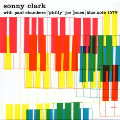 As Blue Notes' in-house designer, Miles created a powerful iconography of block lettering and bold colors to complement the definitive 1950s and 60s jazz record label. Description from erik1966route1.blogspot.com. I searched for this on bing.com/images