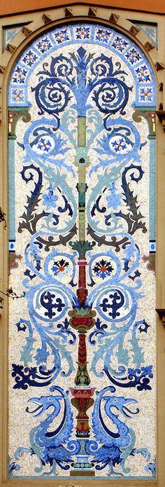 Casa Aleu. Architect: Manuel Comas i Thos. Barcelona Modernisme (by Arnim Schulz)
