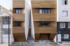 خانه افشاریان در زمینی به مساحت ۳۱۲ متر مربع در سه طبقه برای یک زوج کرمانشاهی و دختر و پسر کوچکشان طراحی شده است  http://iranarchitects.com/%D8%AC%D8%B2%D8%A6%D9%8A%D8%A7%D8%AA-%D8%AE%D8%A8%D8%B1/newsid/442
