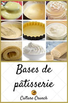 Italian Cookie Recipes, Pastry Recipes, Baking Recipes, Quiche Recipes, Patisserie Design, Decoration Patisserie, Logo Patisserie, Boutique Patisserie, French Desserts