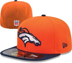 2ad643661d Shop NFL Denver Broncos New Era Fitted hats at the ultimate sports store