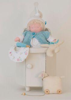 Zonnekindpop baby Mees van Speelgoedatelier op Etsy