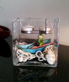Teelichthalter Glaswürfel P91983 #partylite