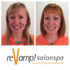 reVamp! Salonspa Makeover  Before & After