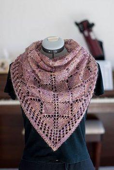 Knitting ~ Free Pattern: BLT Scarf/Shawl by Cheri McEwen ~ Teresa Restegui ~ Knit Cowl, Knitted Shawls, Crochet Scarves, Knitting Scarves, Lace Shawls, Knit Or Crochet, Lace Knitting, Crochet Shawl, Shawl Patterns