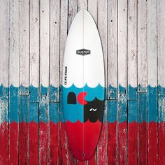 Buster PACMAN, Limited Edition River Surfboard on Behance
