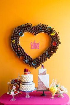 Creative Ideas - DIY Beautiful Paper Heart Wall Art